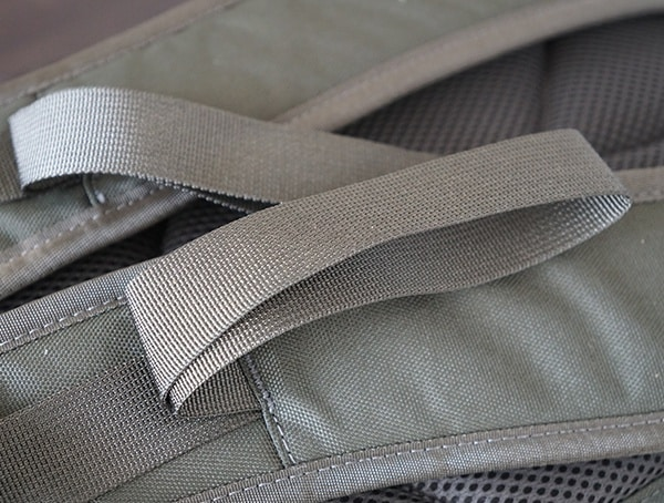 Lifter Loops On Shoulder Straps United By Blue Arid Backpack