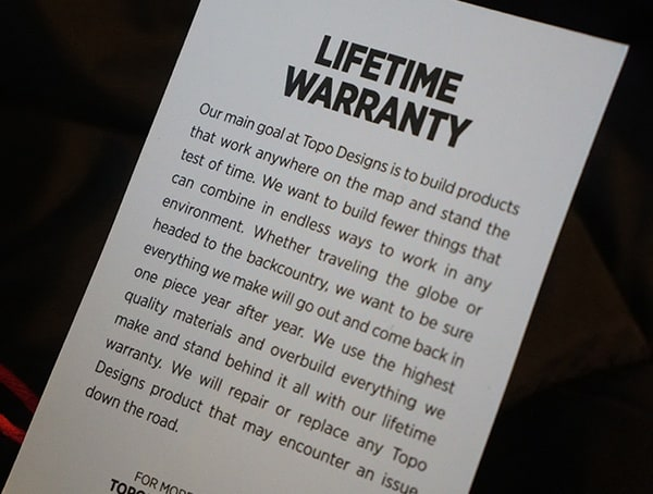 Liftetime Warranty Topo Designs Mountain Jackets For Men
