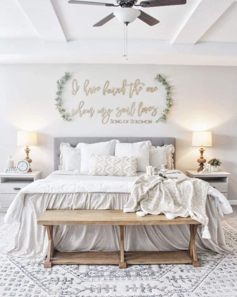 Light Color Bedroom Paint Colors Newbuild Newlyweds