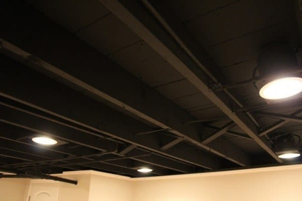 Canned Ceiling Lights Basement Stairs: Top 60 Best Basement Lighting Ideas