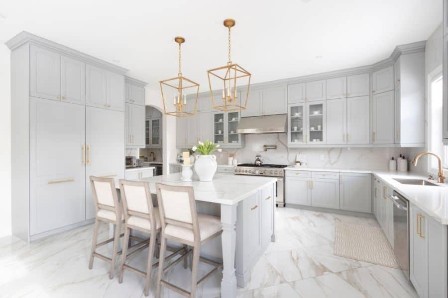 Light Fixtures Modern Farmhouse Kitchen 2
