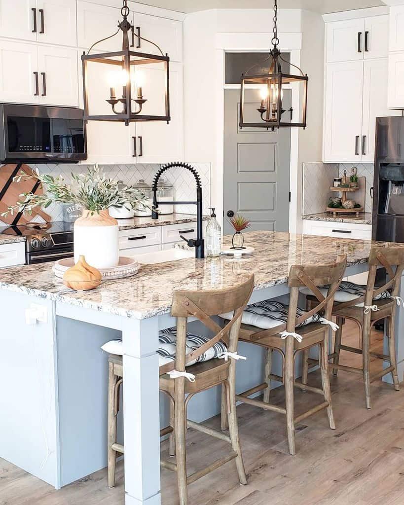 Light Fixtures Modern Farmhouse Kitchen Whitefancyfarmhouse