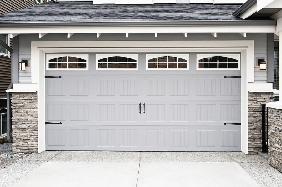 Luxury Garage Door Ideas Painted White