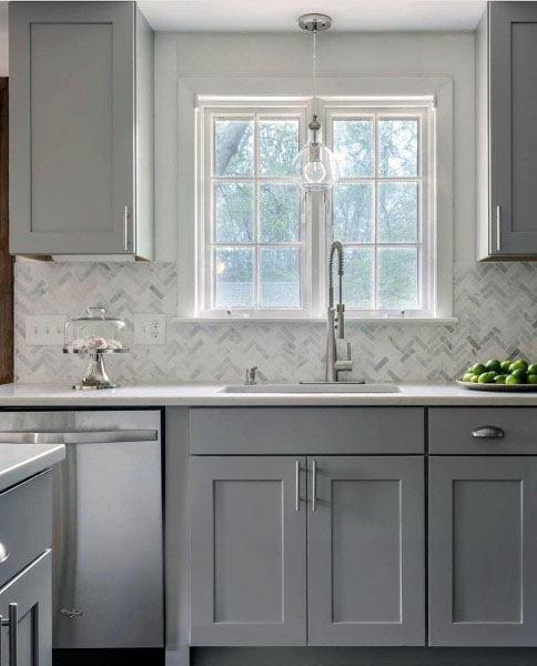 Light Grey Kitchen Cabinet Ideas