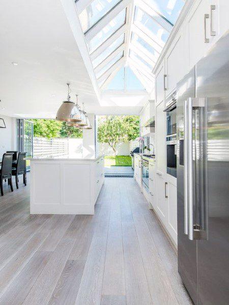 Light Hardwood Kitchen Flooring Ideas