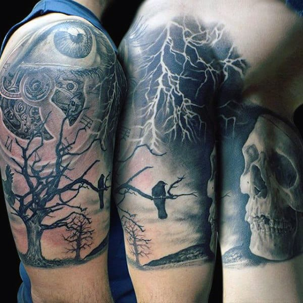 60 Lightning Tattoo Designs For Men – A Surge Of High Voltage Ideas recommend