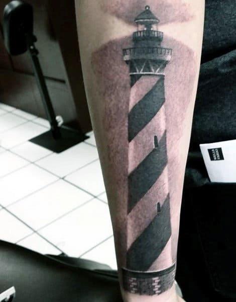 Lighthouse Tattoo Inspiration For Men