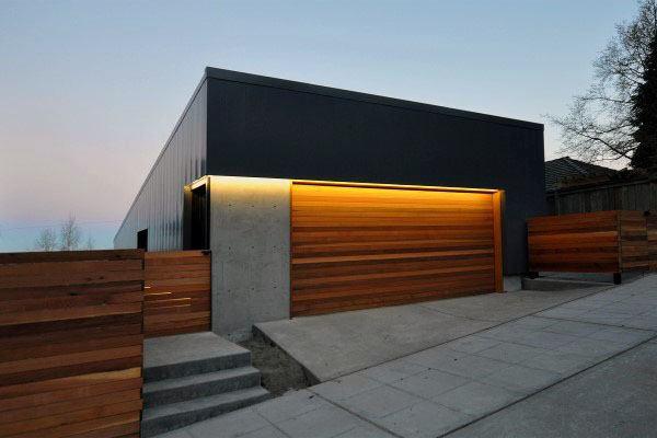 Lighting Designs For Outdoor Garage Walls