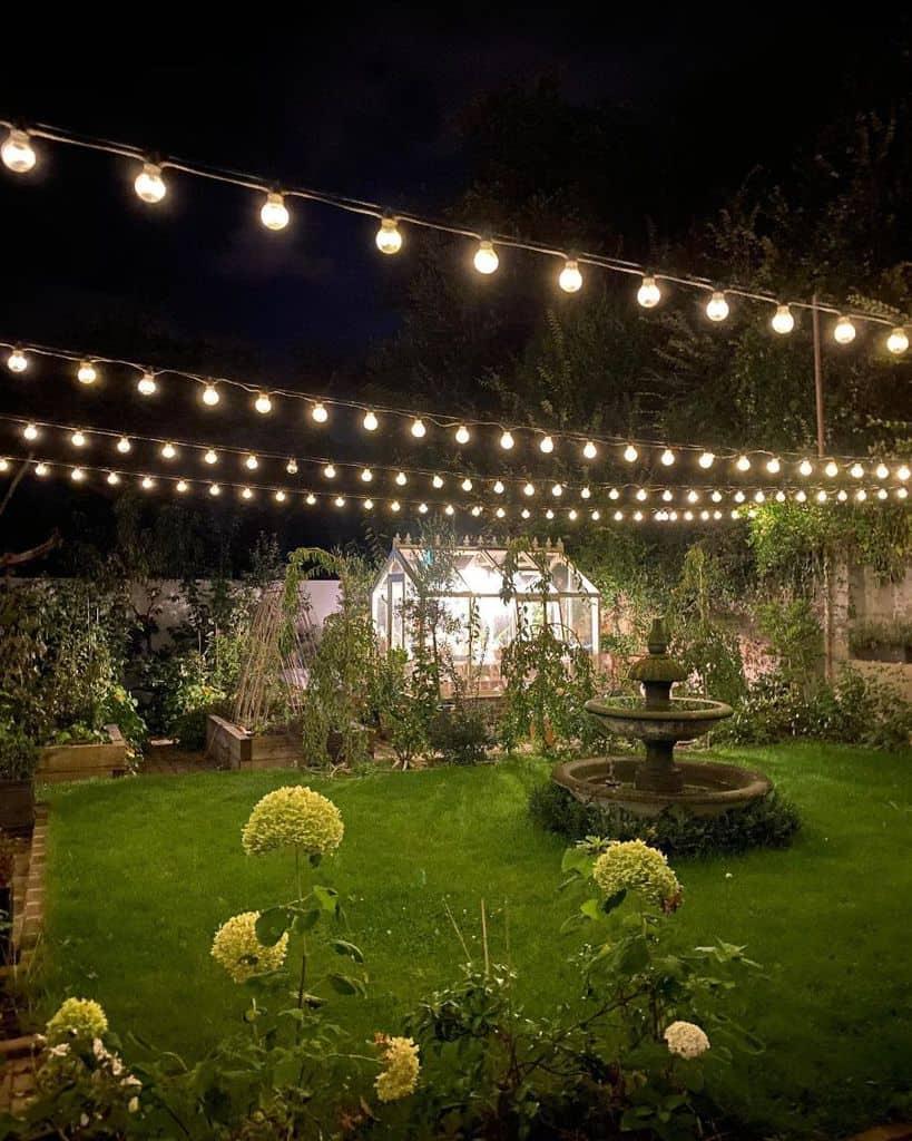lighting garden decor ideas ourclapboardhomebythesea