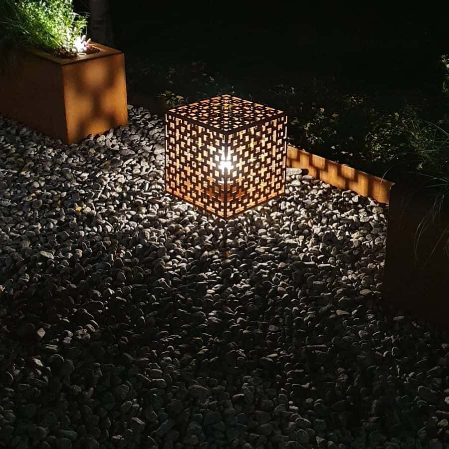 lighting garden decor ideas thecortenfactory