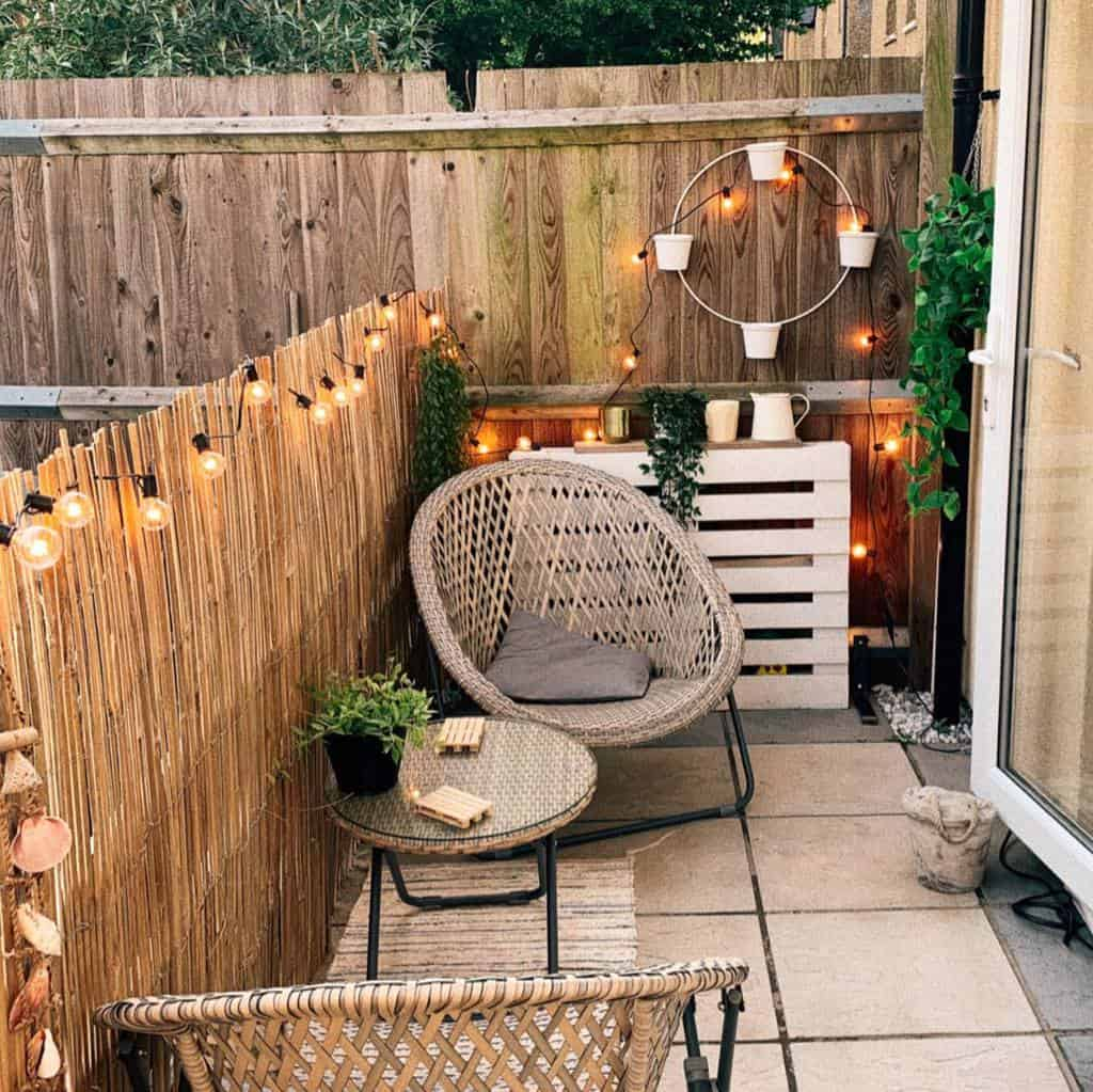lighting ideas small backyard patio ideas hannah.athome