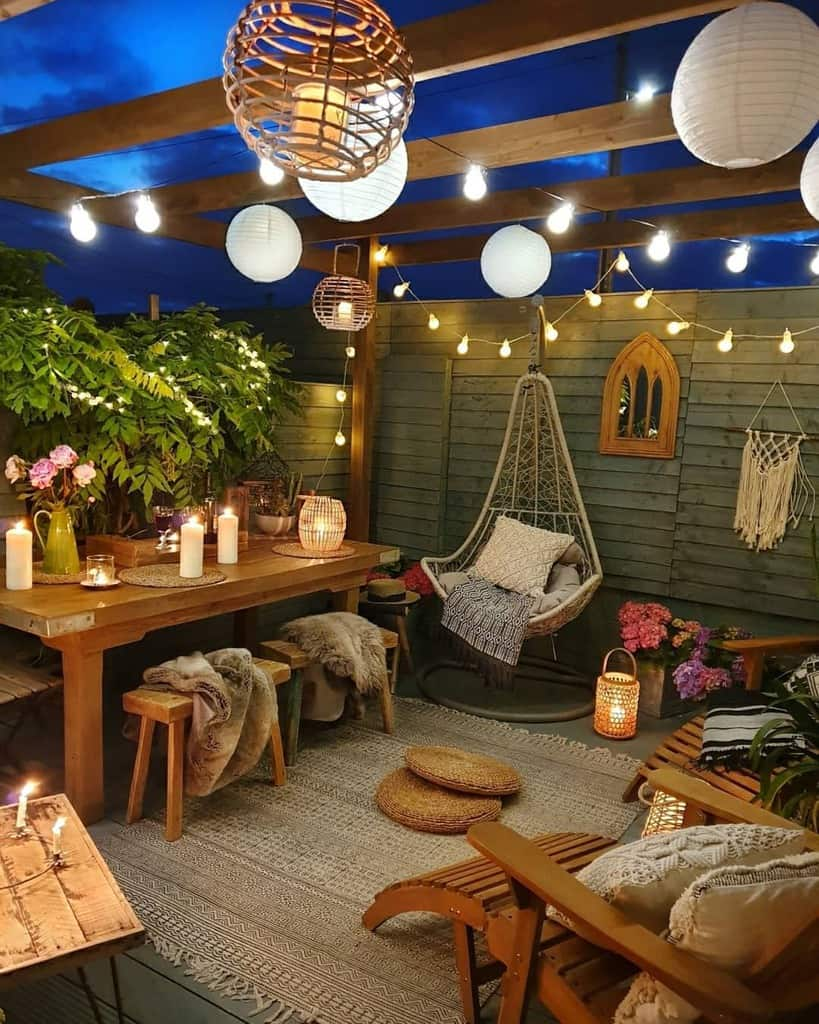 lighting ideas small backyard patio ideas sixat21