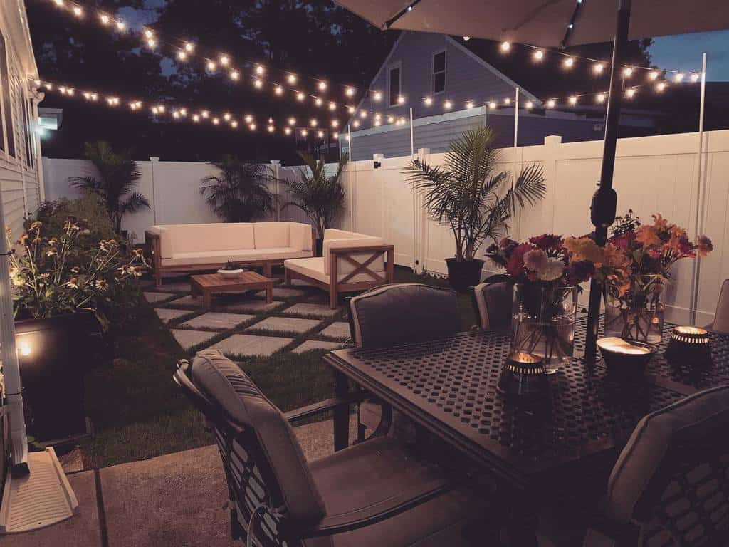 lighting ideas small backyard patio ideas ulovelucy_rn
