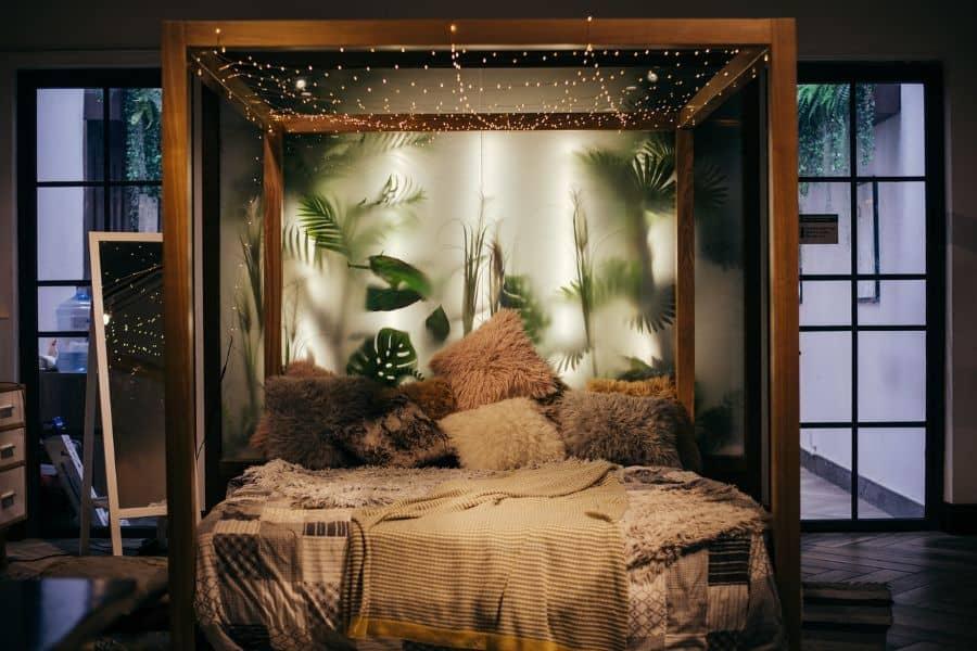 lighting romantic bedroom ideas 2