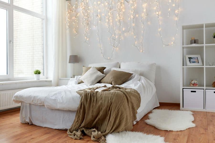 lighting romantic bedroom ideas 4