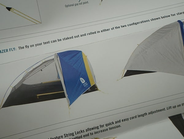 Lightweight Sierra Designs Sweet Suite 3 Tent Rain Fly Explained