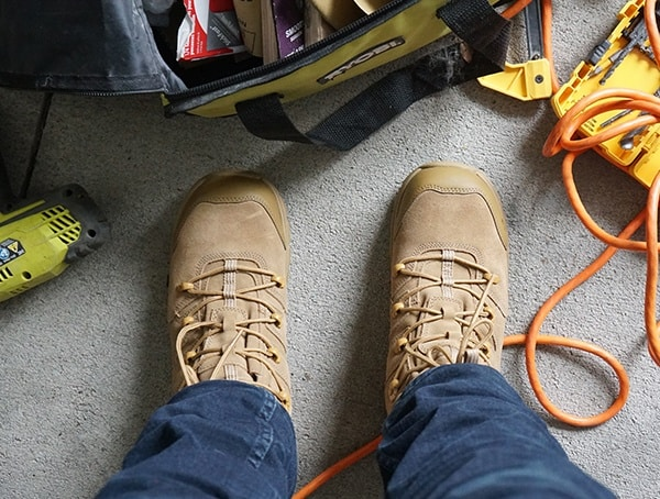 Lightweight Work Boots For Men Wolverine Contactor Lx Cm Review