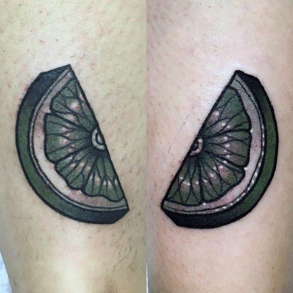 Lime Mens Tattoos