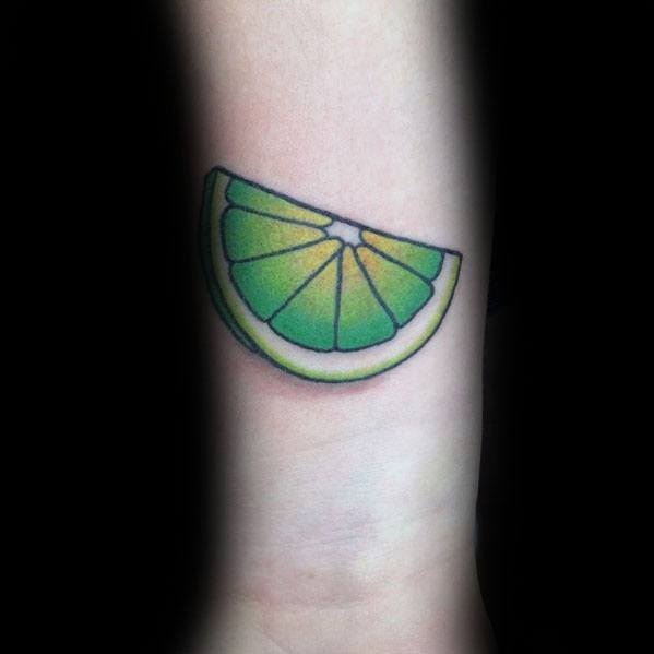 Lime Tattoos For Gentlemen