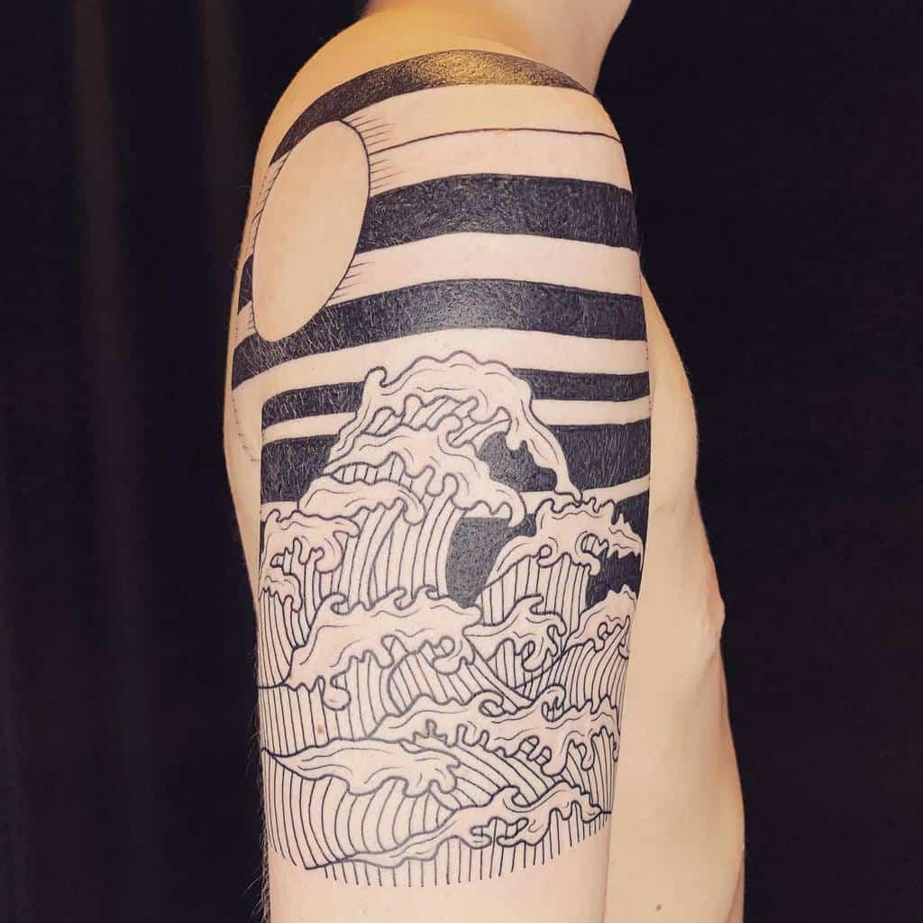 line-work-wood-cut-ocean-tattoo-eekpdx