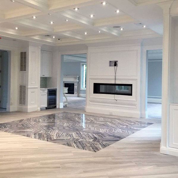 Linear Fireplace Home Ideas