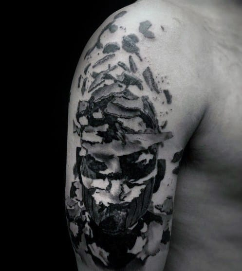 Linkin Park Tattoo Design Ideas For Men Abstract Arm