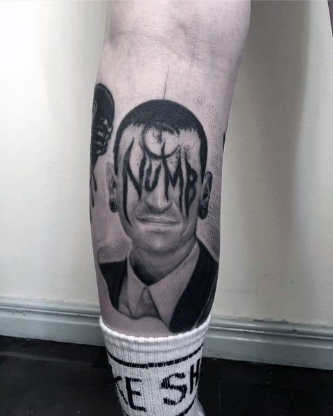 Linkin Park Tattoo For Men