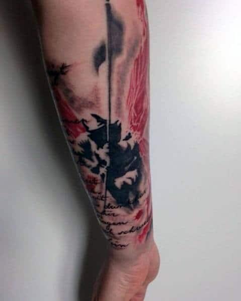Linkin Park Tattoos For Gentlemen