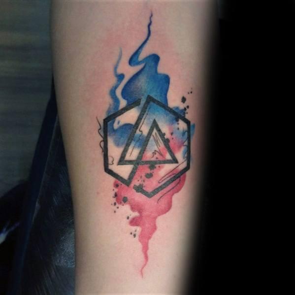 Linkin Park Tattoos For Men