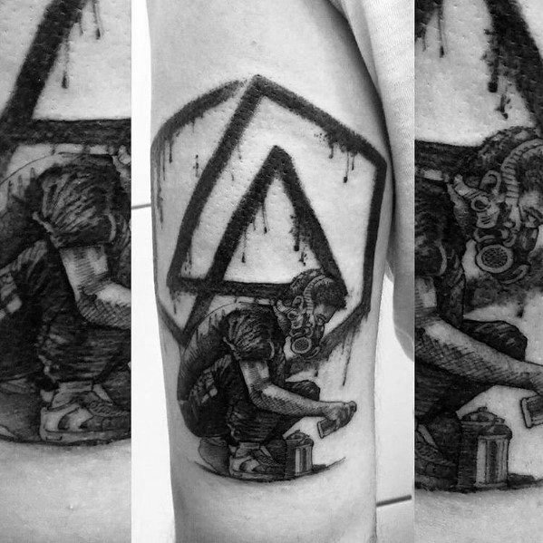 Linkin Park Themed Tattoo Design Inspiration