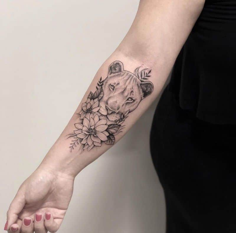 Lion Ink Tattoo