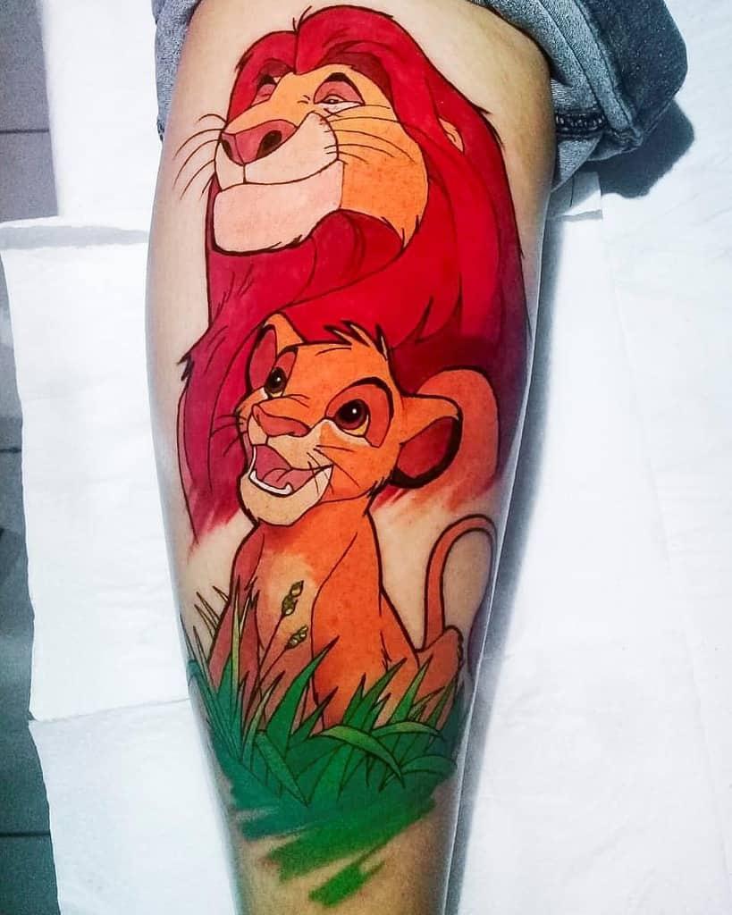 Lion King Simba Tattoo Alemar.silva