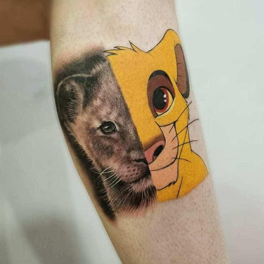Lion King Simba Tattoo July.brandao