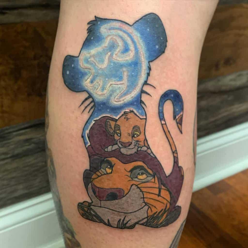 Lion King Simba Tattoo Pa.tina.tattoos