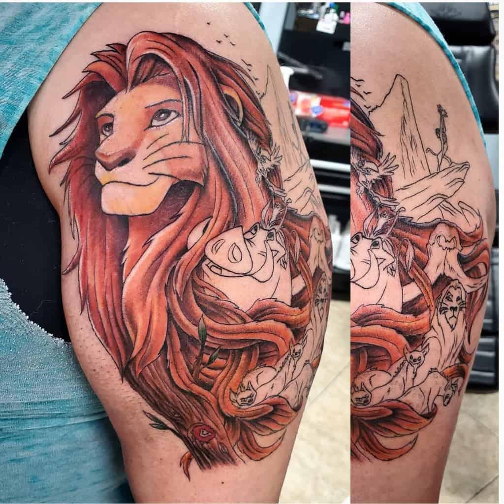 Lion King Simba Tattoo Rupintart Com