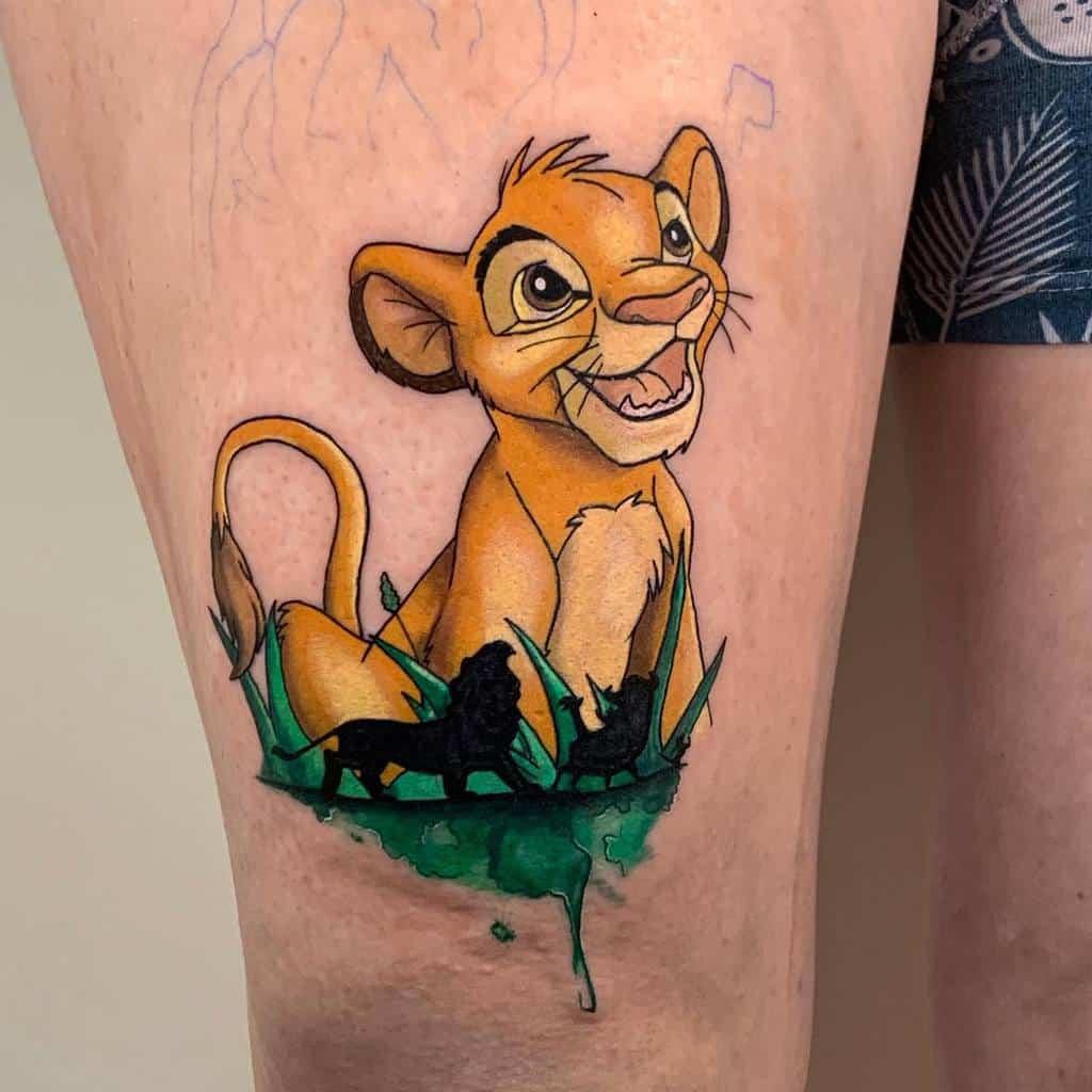 Lion King Simba Tattoo Sherilyn Ink