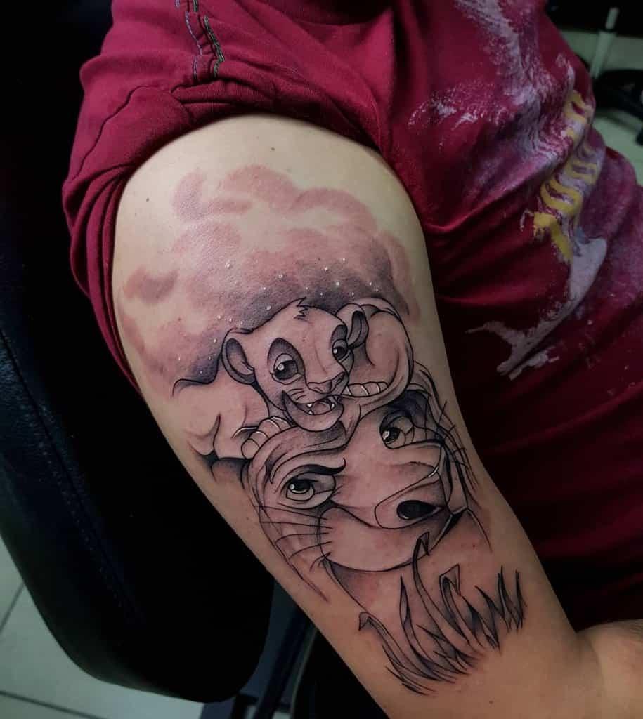 Lion King Simba Tattoo Tattoozgzmiki