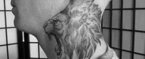 30 Lion Neck Tattoo Ideas For Men – Masculine Designs