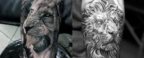 85 Lion Tattoos For Men – A Jungle Of Big Cat Designs