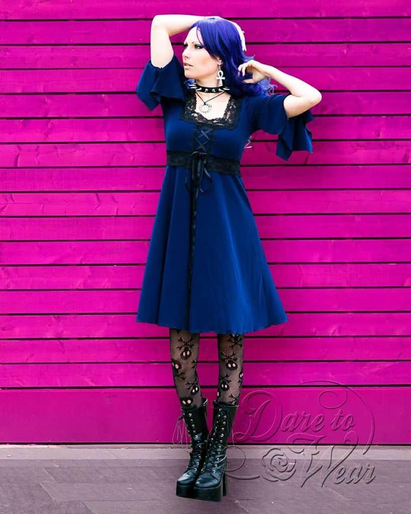 Little Dress Modern Victorian Style