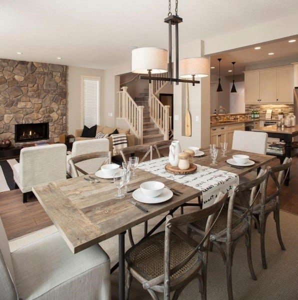 Living Room Area Rustic Dining Ideas