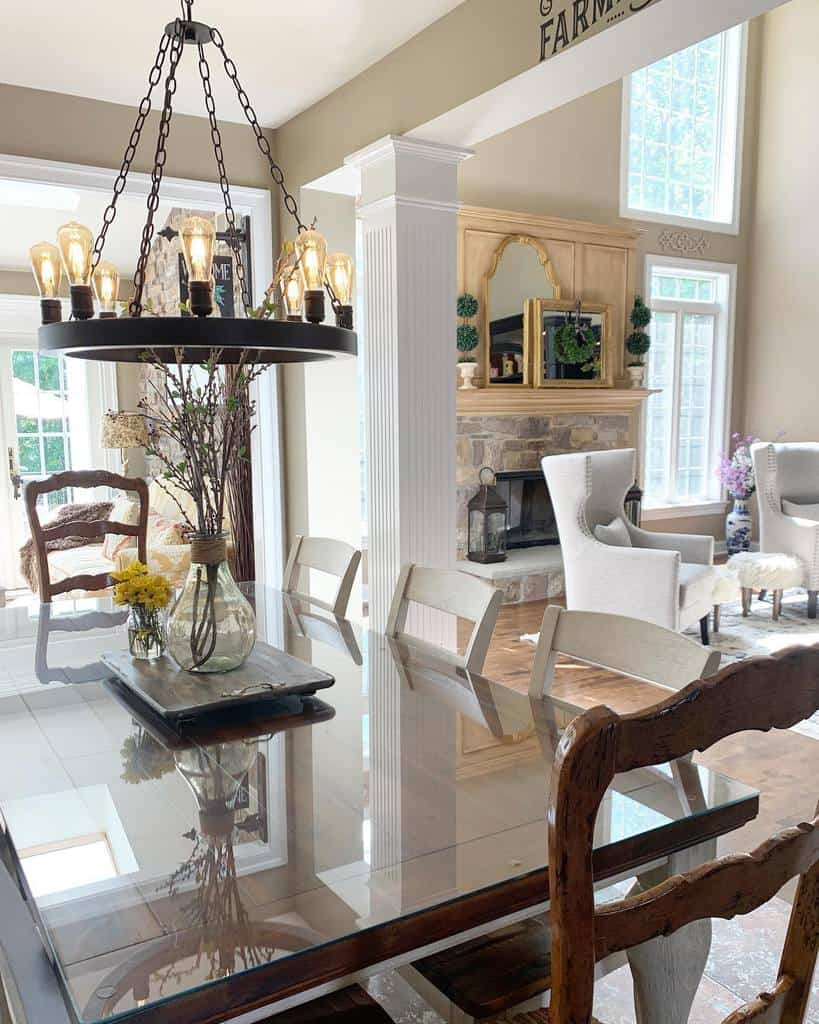 living room dining room ideas athomewithbrandy