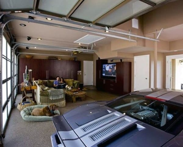 Living Room Dream Garage Ideas