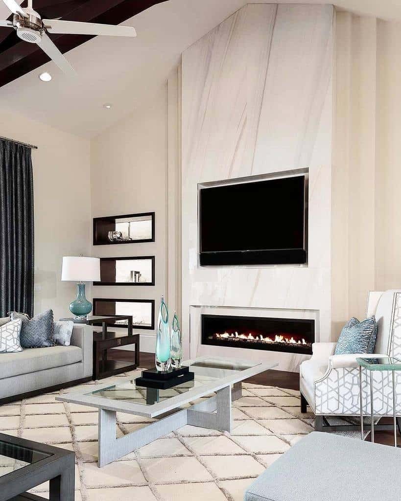 living room fireplace wall ideas allisonkeevandesign