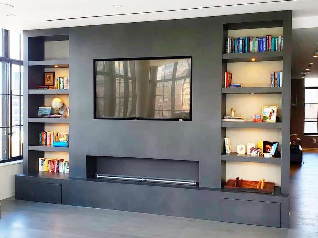 living room fireplace wall ideas faithfulcountertops