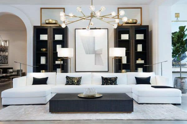 Top 50 Best Modern Living Room Ideas - Contemporary Designs