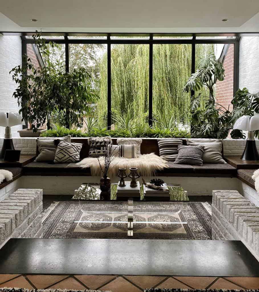 living room indoor garden increee.fr