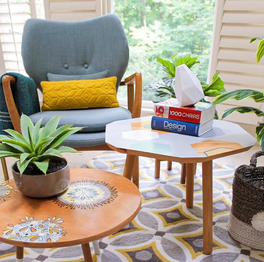 Living Room Interior Decorated With Plants Fa Interior Design
