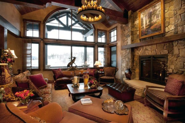 Living Room Interior Ideas Rustic Designs