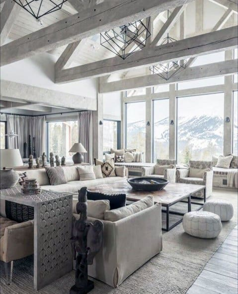 Living Room Metal Chandeliers Lighting Design Inspiration